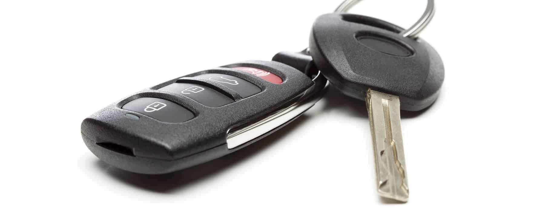 Modern Car Key and Remote