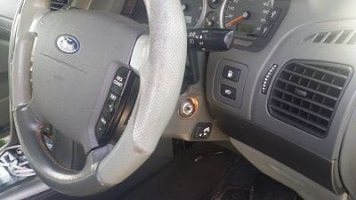 Ford Territory dashboard