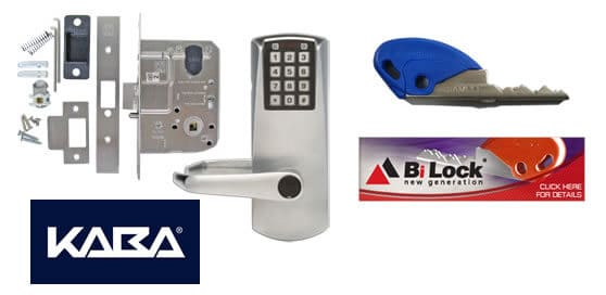 Kaba Commercial door locks