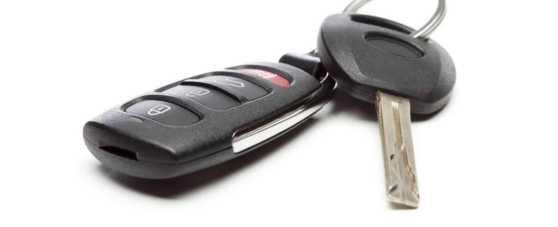 Modern Car Key and Remote