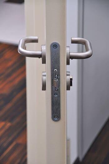 Door with new locks