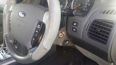 Ford Territory dashboard