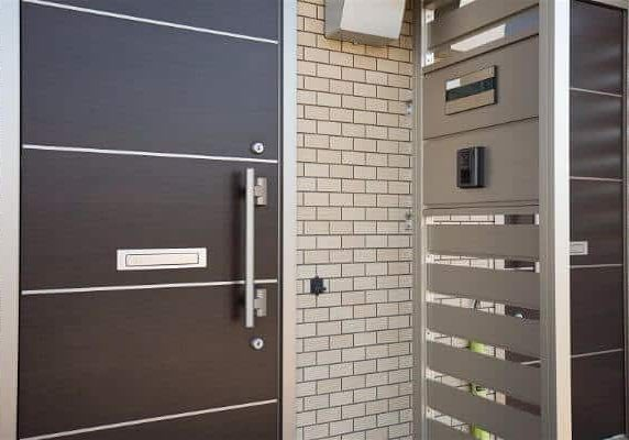 External security locks, door, gate and intercom